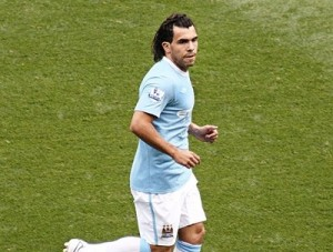 Tevez has dented Manchester City's title hopes according to Harry Redknapp