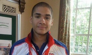 Gymnast Louis Smith is still looking to make the 2012 Olympics