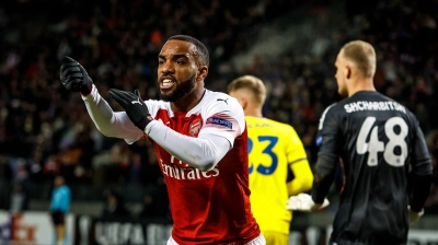 Arsenal ace Alexandre Lacazette refutes rumours that he will leave the club in the summer