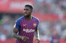 Arsenal suffer setback in pursuit of Barcelona defender Samuel Umtiti