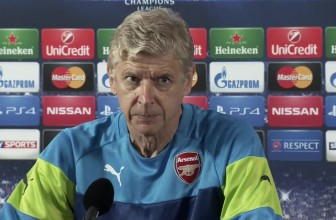 Arsene Wenger confirms Arsenal scouts are looking for a defender