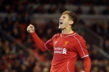 Adam Lallana could return from injury for Aston Villa clash