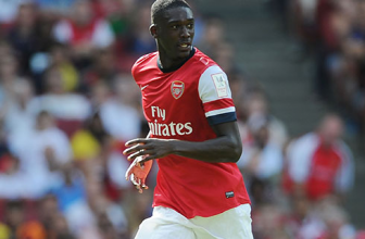 The Gunner's Yaya Sanogo's debut for Crystal Palace on Saturday