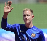 Barcelona's Marc-Andre ter Stegen exit hint could see Liverpool move forkeeper