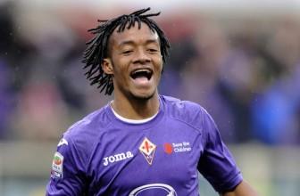The Blues closing in on Fiorentina's Juan Cuadrado
