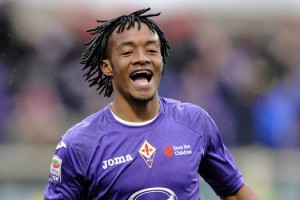 The Blues closing in on Fiorentina's Juan Cuadrado