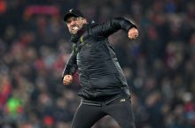 Liverpool manager Jurgen Klopp 'not surprised at all' by another late win