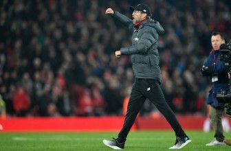 Liverpool take 'crazy' eight-point lead after 'wild' victory over Manchester City