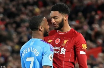 Raheem Sterling dropped by England after 'altercation' with Joe Gomez