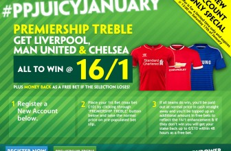 16/1 on Liverpool, Man Utd & Chelsea to win proving popular